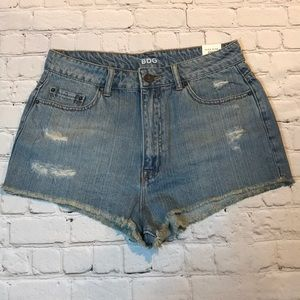 NEW BDG Urban Outfitters cheeky shorts sz 31